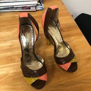 BCBG platform heels 8 1/2